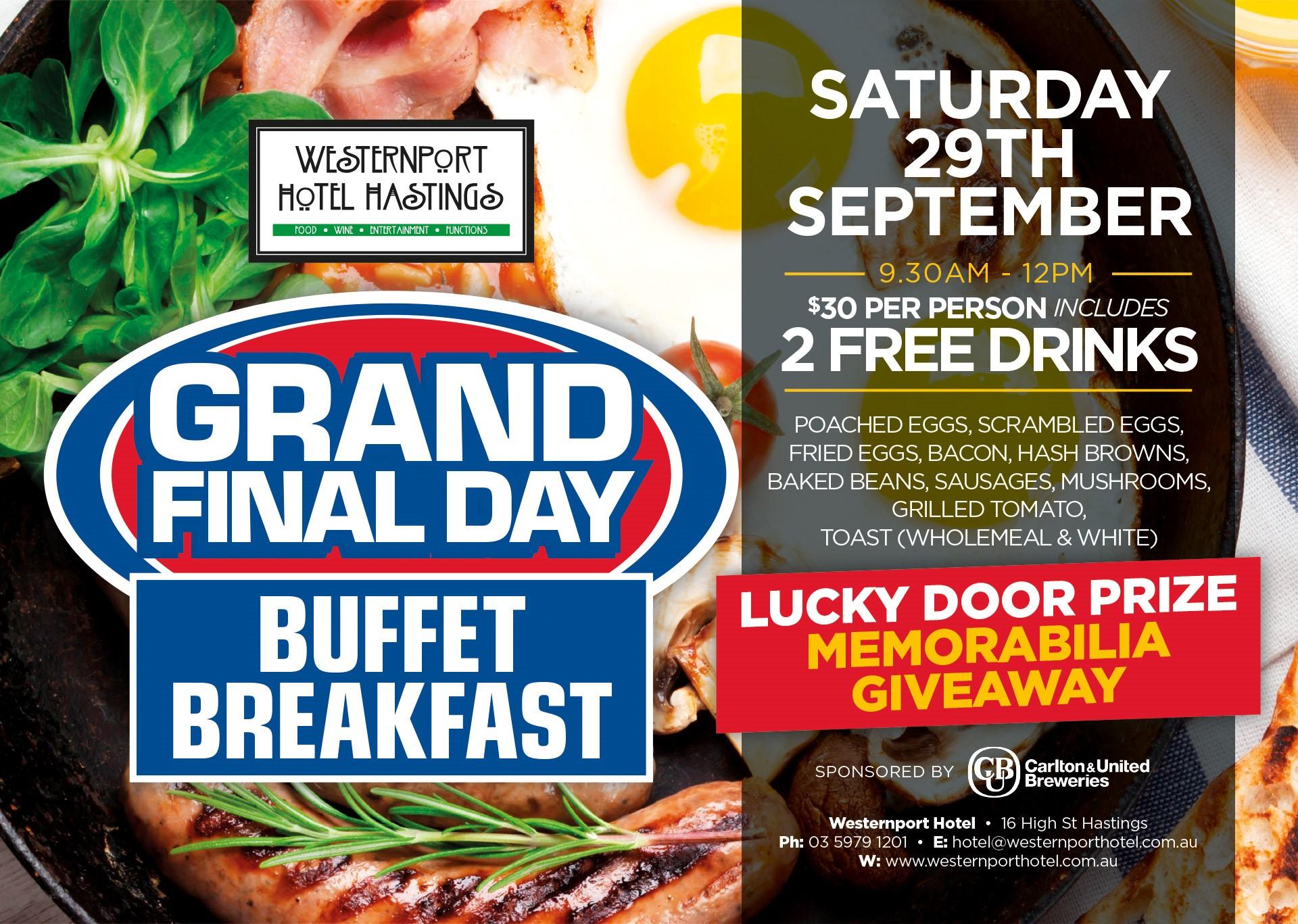 Grand Final Day Breakfast 2018[10088]