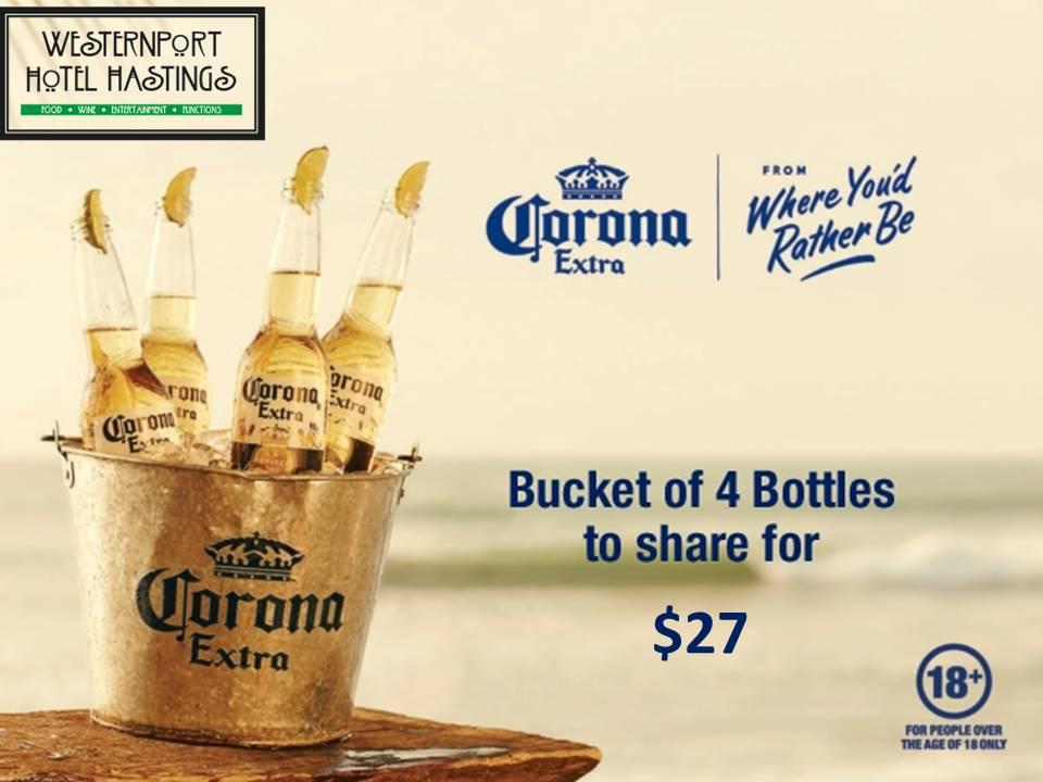 westernport Corona Buckets $27