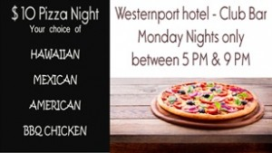 $10 pizza at westernport hotel